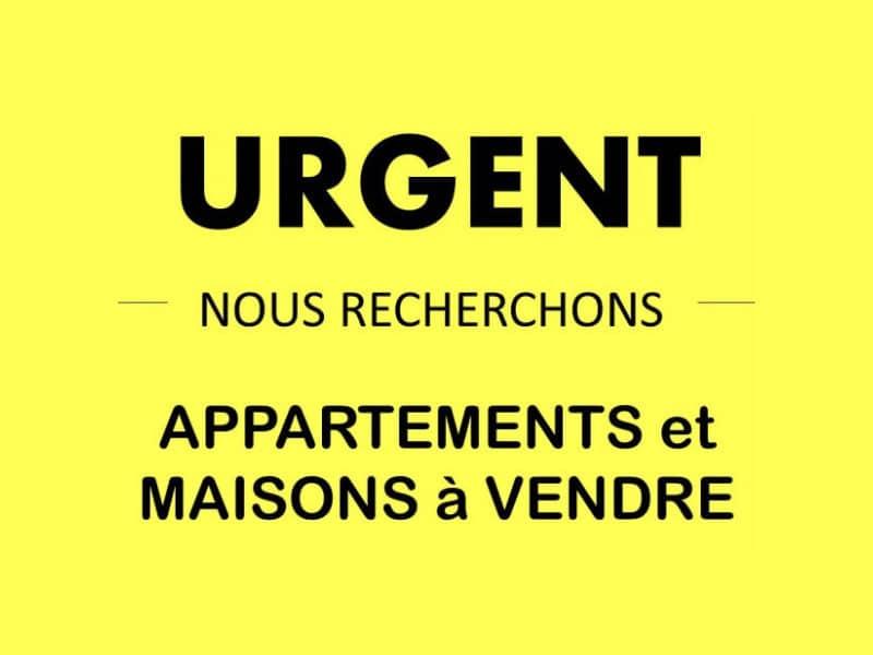 URGENT, Nous recherchons appartements et maisons à vendre !
